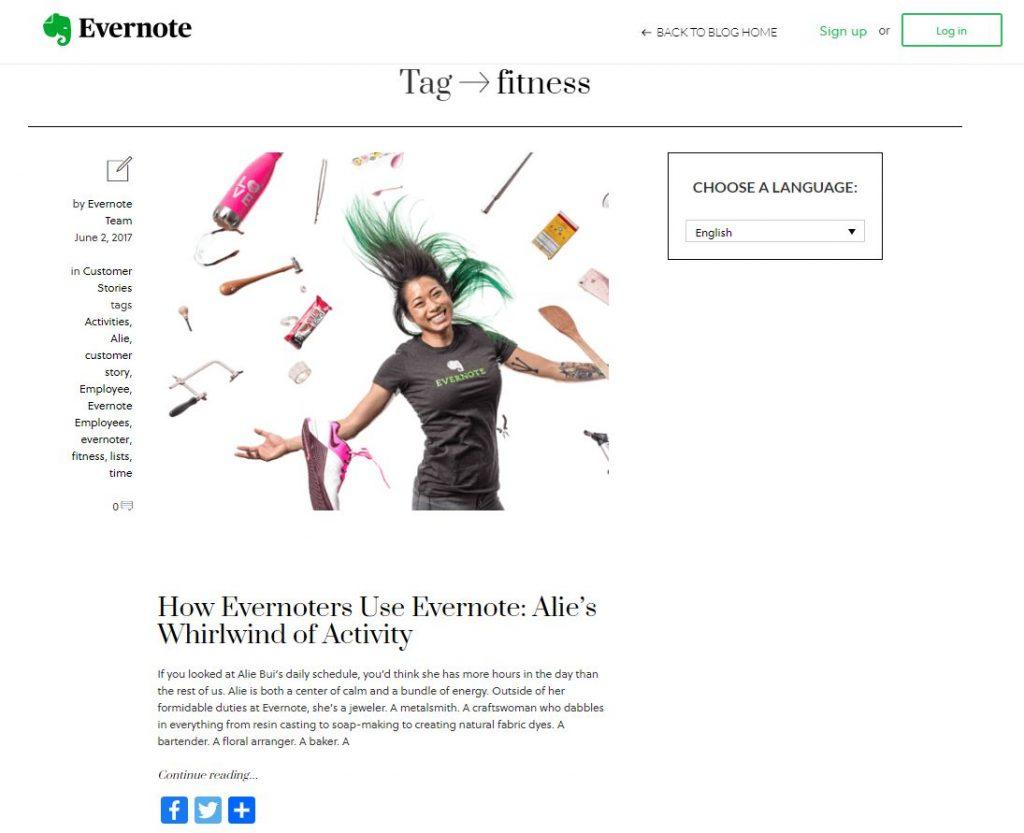 Evernote Ana Sayfa